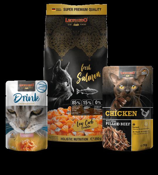 Cat Box LEONARDO® fresh Salmon