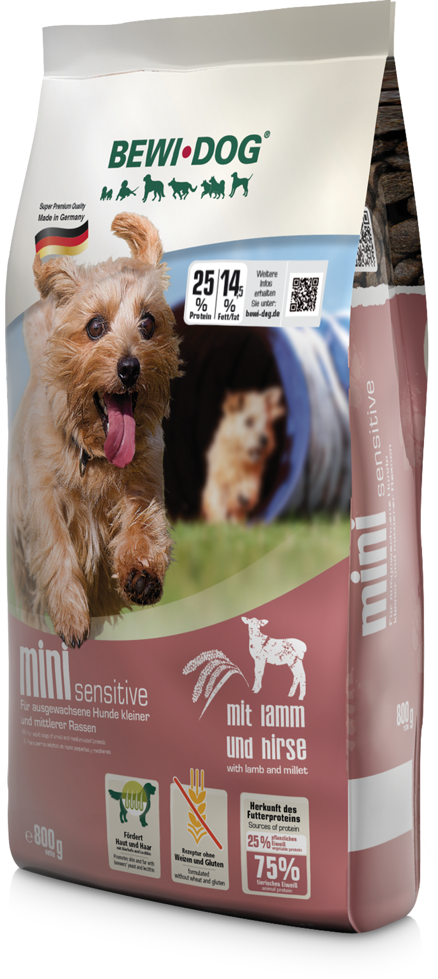 Bewidog-mini-sensitive-800g-re