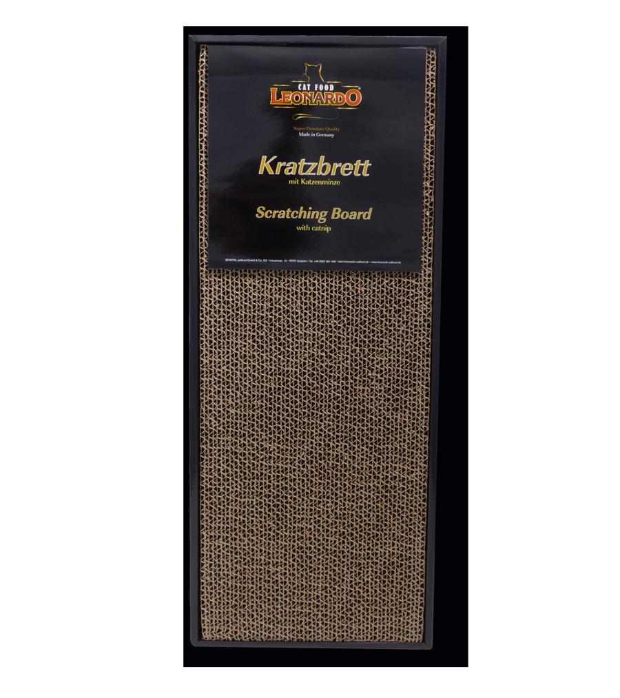 Leonardo-Kratzbrett-front