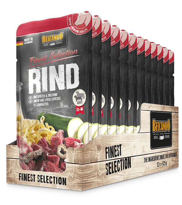 BELCANDO® Rind mit Spätzle & Zucchini (12 x 125g)