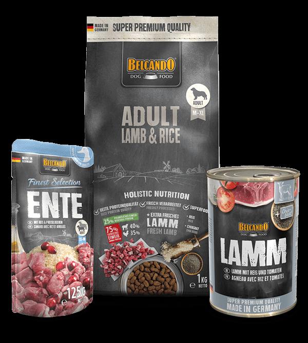 Belcando-Kennlernpaket-Adult-Lamb-Rice