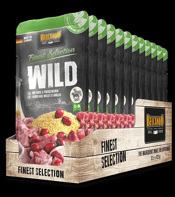 BELCANDO® Wild mit Hirse & Preiselbeeren (12 x 125g)