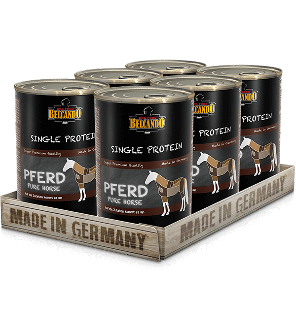 BELCANDO® Single Protein Pferd (6 x 400g)
