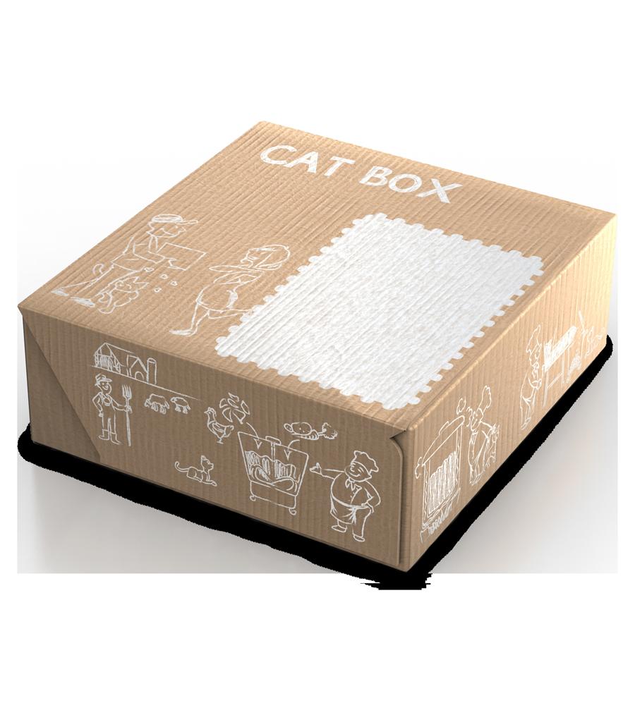 Cat Box LEONARDO® Adult Fish