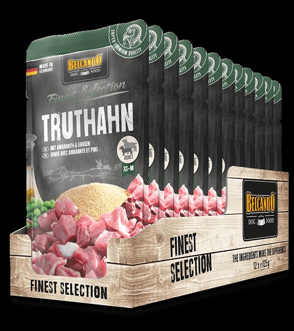 BELCANDO® Truthahn mit Amaranth & Erbsen (12er Pack)