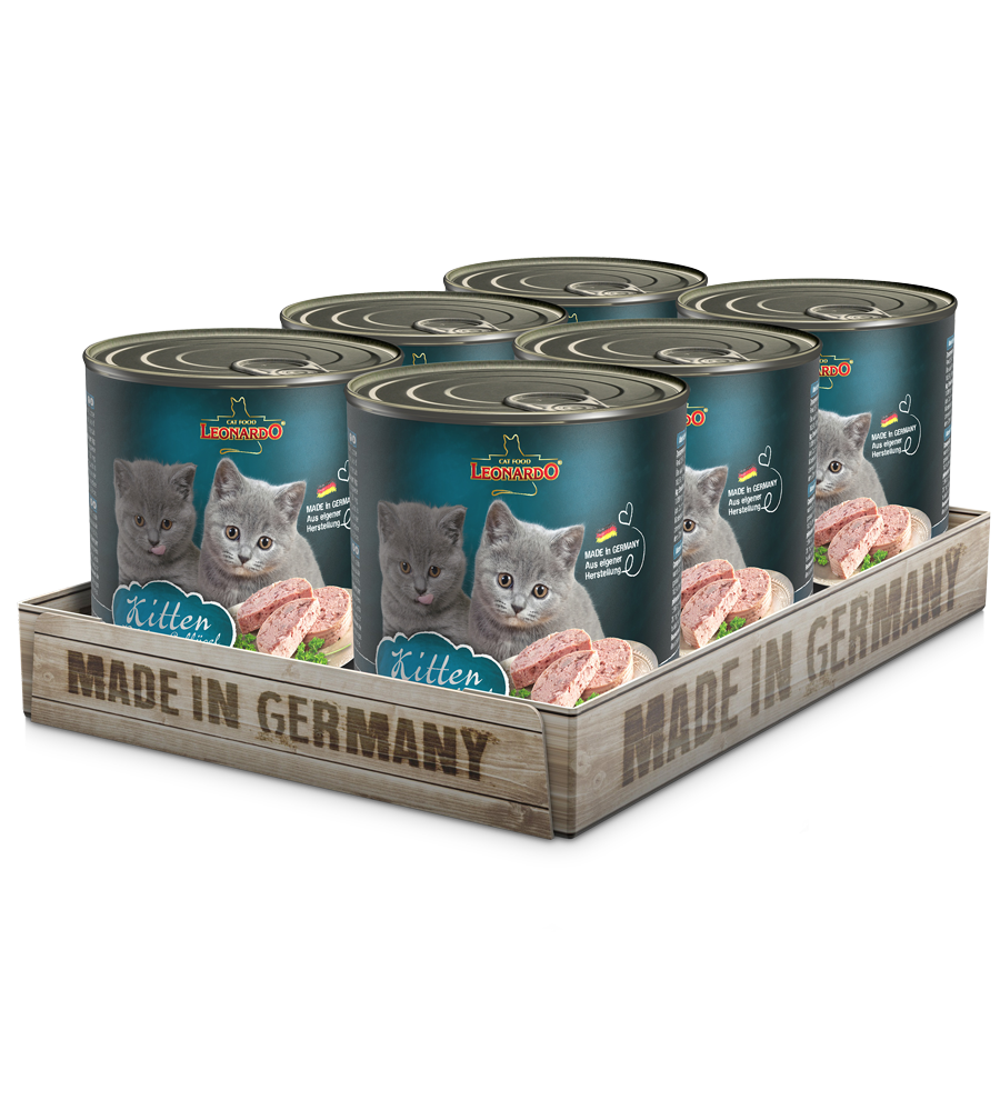LEONARDO® Kitten (6 x 800g)